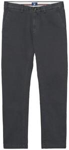 Gant Slim Comfort Chino Pants Dark Graphite
