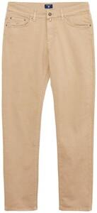 Gant Slim Desert Jeans Jeans Midden Bruin