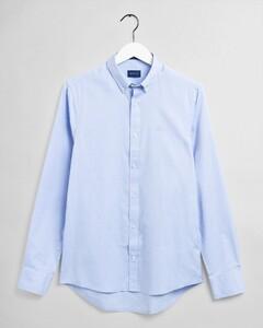 Gant Slim Pinpoint Oxford Button Down Overhemd Capri Blue