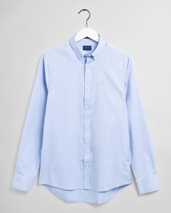 Gant Slim Pinpoint Oxford Button Down Shirt Capri Blue