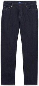 Gant Slim Straight Jeans Jeans Donker Blauw