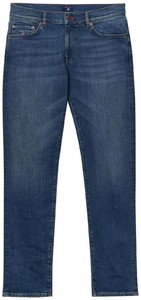 Gant Slim Straight Jeans Jeans Mid Blue Worn In