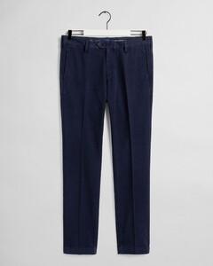 Gant Slim Structure Chino Pants Marine
