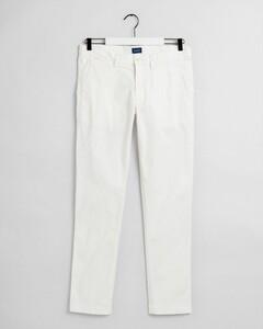 Gant Slim Sunfaded Chino Pants Eggshell