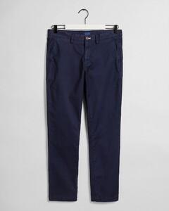 Gant Slim Sunfaded Chino Pants Marine