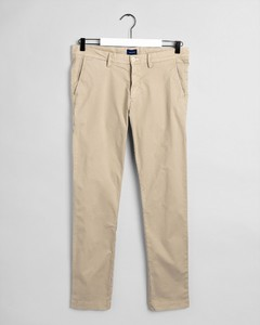 Gant Slim Sunfaded Chino Pants Sand