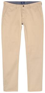 Gant Slim Twill Chino Pants Dark Khaki