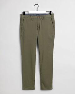 Gant Slim Twill Chino Pants Four Leaf Clover