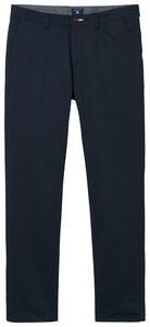 Gant Slim Twill Chino Pants Navy