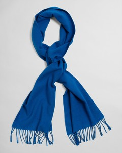 Gant Solid Wool Scarf Sjaal Strong Blue