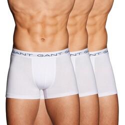 Gant Stretchkatoen Trunks 3Pack Ondermode Wit