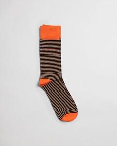 Gant Striped Socks Sokken Warm Khaki