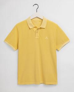 Gant Sunbleached Piqué Rugger Polo Brimstone Yellow