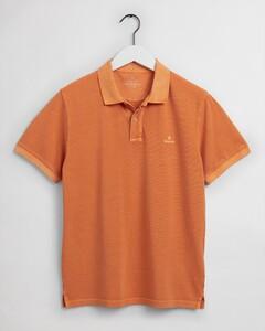 Gant Sunbleached Piqué Rugger Polo Russet Orange