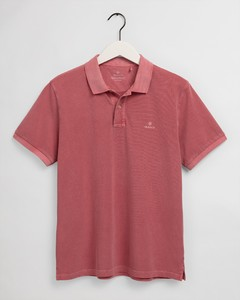 Gant Sunbleached Piqué Rugger Poloshirt Cardinal Red