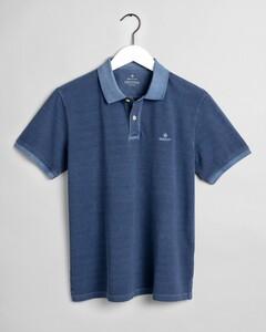 Gant Sunbleached Piqué Rugger Poloshirt Insignia Blue