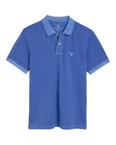 Gant Sunbleached Piqué Rugger Poloshirt Palace Blue