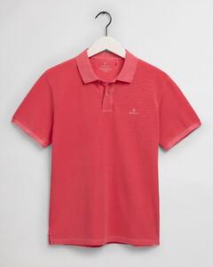 Gant Sunbleached Piqué Rugger Poloshirt Paradise Pink