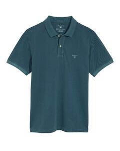 Gant Sunbleached Piqué Rugger Poloshirt Storm Green