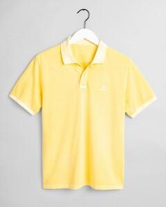 Gant Sunbleached Piqué Rugger Poloshirt Sunlight