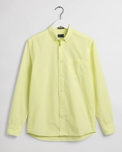 Gant Sunfaded Button Down Overhemd Sunny Lime
