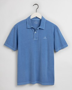 Gant Sunfaded Jersey Rugger Polo Pacific Blue