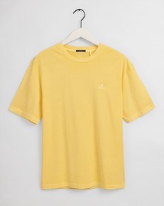 Gant Sunfaded Shirt T-Shirt Brimstone Yellow