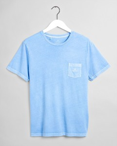 Gant Sunfaded Short Sleeve T-Shirt T-Shirt Capri Blue