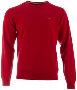 Gant Super Fine Lambswool Pullover Trui Bright Red