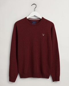 Gant Super Fine Lambswool Pullover Trui Royal Port Red