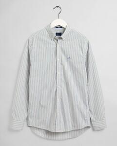 Gant Tech Prep Broadcloth Stripe Overhemd Kelly Green