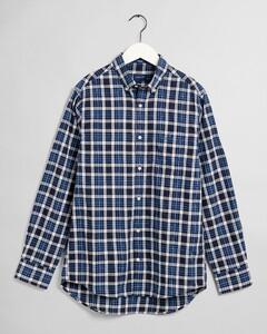 Gant Tech Prep Check Overhemd Strong Blue