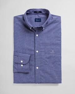 Gant Tech Prep Dobby Micro Check Overhemd Navy