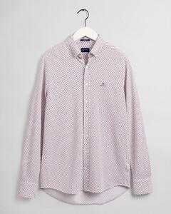 Gant Tech Prep Piqué Fantasy Overhemd Wit