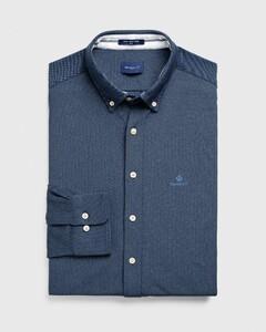Gant Tech Prep Piqué Shirt Shirt Marine