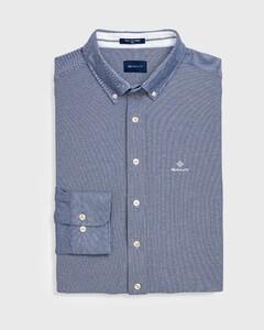 Gant Tech Prep Piqué Shirt Shirt Persian Blue
