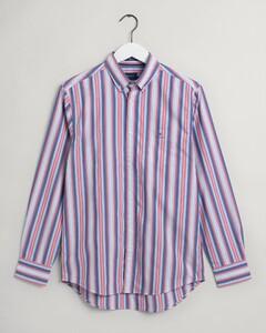 Gant Tech Prep Surf Stripe Overhemd Paradise Pink