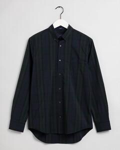 Gant Tech Prep Winter Check Overhemd Groen