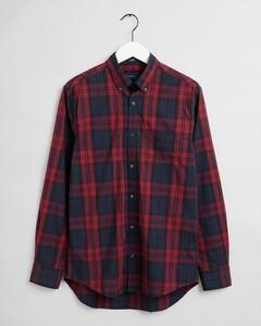 Gant Tech Prep Winter Check Overhemd Mahonie Rood