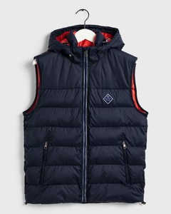 Gant The Active Cloud Vest Body-Warmer Avond Blauw
