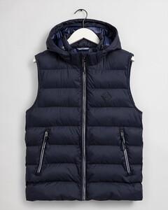 Gant The Active Cloud Vest Body-Warmer Evening Blue