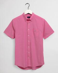 Gant The Broadcloth Short Sleeve Overhemd Cabaret Pink
