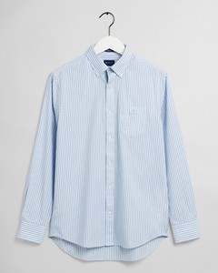 Gant The Broadcloth Stripe Overhemd Capri Blue