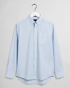 Gant The Broadcloth Stripe Shirt Capri Blue
