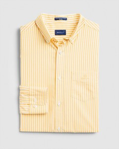 Gant The Broadcloth Stripe Shirt Mimosa Yellow