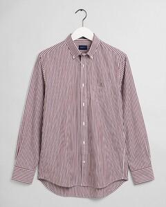 Gant The Broadcloth Stripe Shirt Port Red