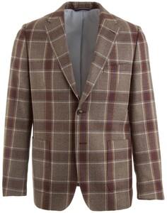 Gant The Double Check Blazer Colbert Bruin