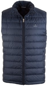Gant The Light Down Bodywarmer Body-Warmer Marine