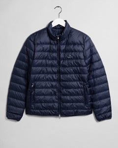Gant The Light Down Jacket Jack Avond Blauw
