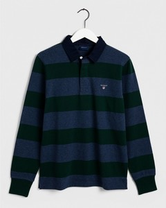 Gant The Original Barstripe Heavy Rugger Pullover Green